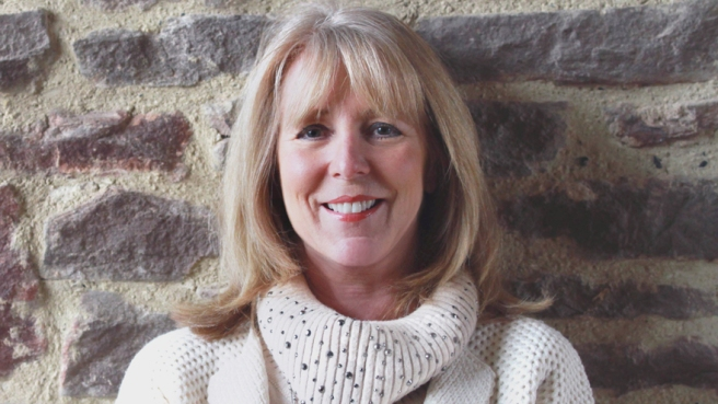 Author Susan Lewis at her Bagington home. Friday 5th of December 2014